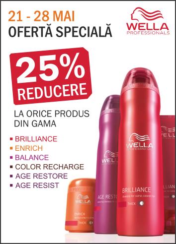 -25% la toate produsele din gama Wella Care