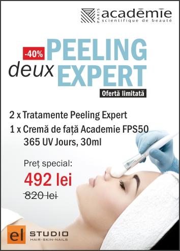 -40% Academie <br>Peeling Expert