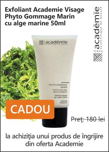 CADOU: Exfoliant Academie Phyto Gommage Marin 50ml