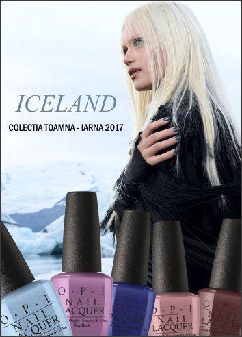 OPI Iceland - colectia toamna/iarna 2017