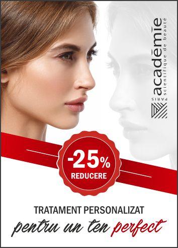 -25% Tratament personalizat Academie