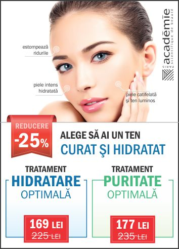 -25% Academie Hidratare / Puritate Optimala